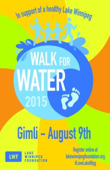 Walk for Water 2015 Gimli