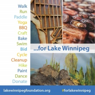 Bid for Lake Winnipeg is an art auction in support of LWF running until Aug 7, 2020 at 11:59 p.m.