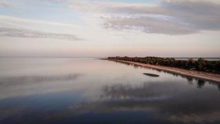 A photo of a sunset over Chalet Beach