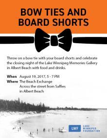 Lake Winnipeg Memories Invite