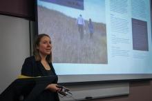 Chelsea Lobson presenting at LWCBMN Gathering 2020