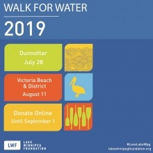 Walk for Water 2019 poster