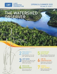 Cover of the Spring & Summer LWF newsletter